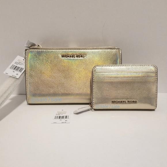 5dbb373092a9 Michael Kors Bags | Hologram Iridescent Wallet Wristlet | Poshmark